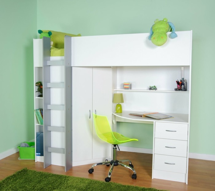 hochbett 140x200 fuer erwachsene cheap polini kids kinder. Black Bedroom Furniture Sets. Home Design Ideas