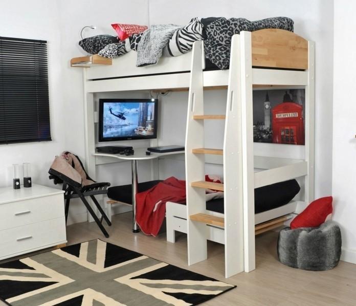 Ausgefallene Hochbetten hochbett selber bauen mehr als 100 ideen und bauanleitungen