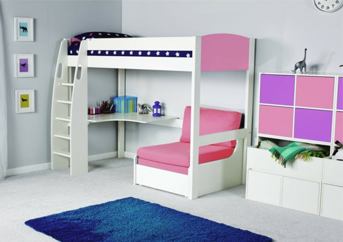 hochbett f r kinder kinder hochbett kiefer massiv gelaugt leiter pickupm die 25 besten ideen. Black Bedroom Furniture Sets. Home Design Ideas