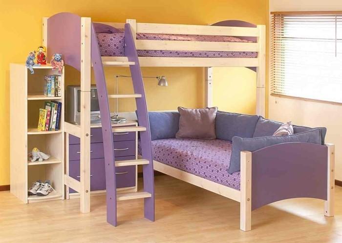 hochbett-selber-bauen-schoen-aussehendes-hochbett