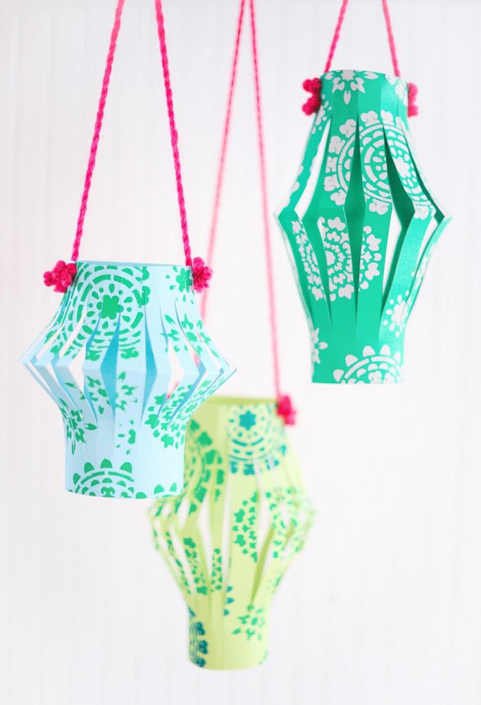 kinderleichte laternen basteln bunte farben einfache bastelideeen für kleinkinder laterne zum selberbasteln
