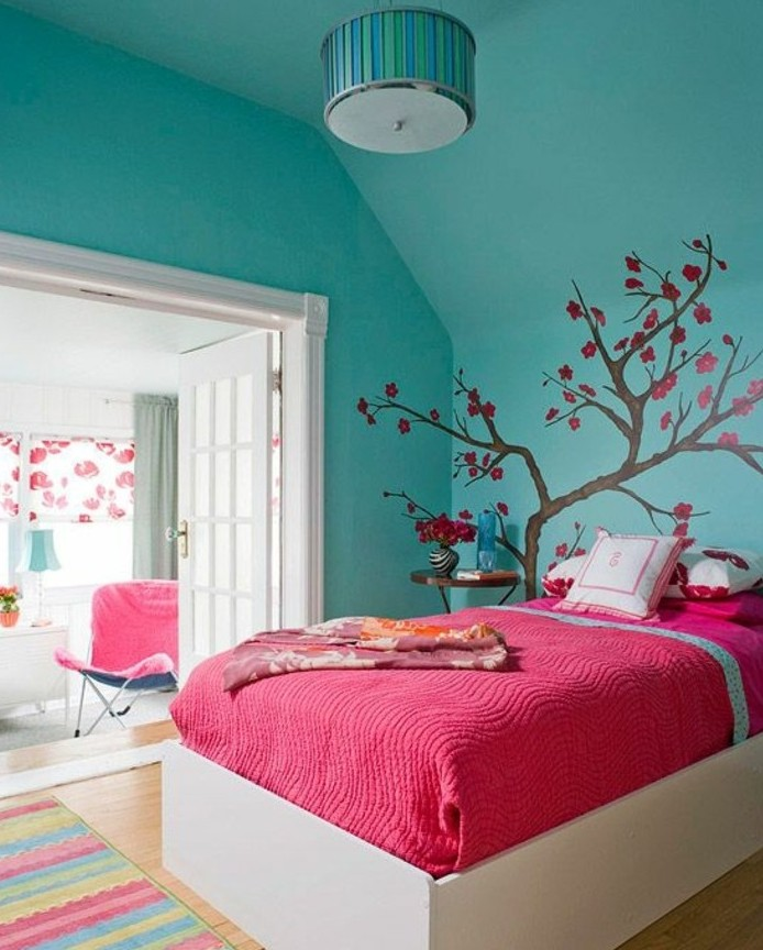 Kinderzimmer einrichten – 84 Ideen für Kinderzimmer für Mädchen