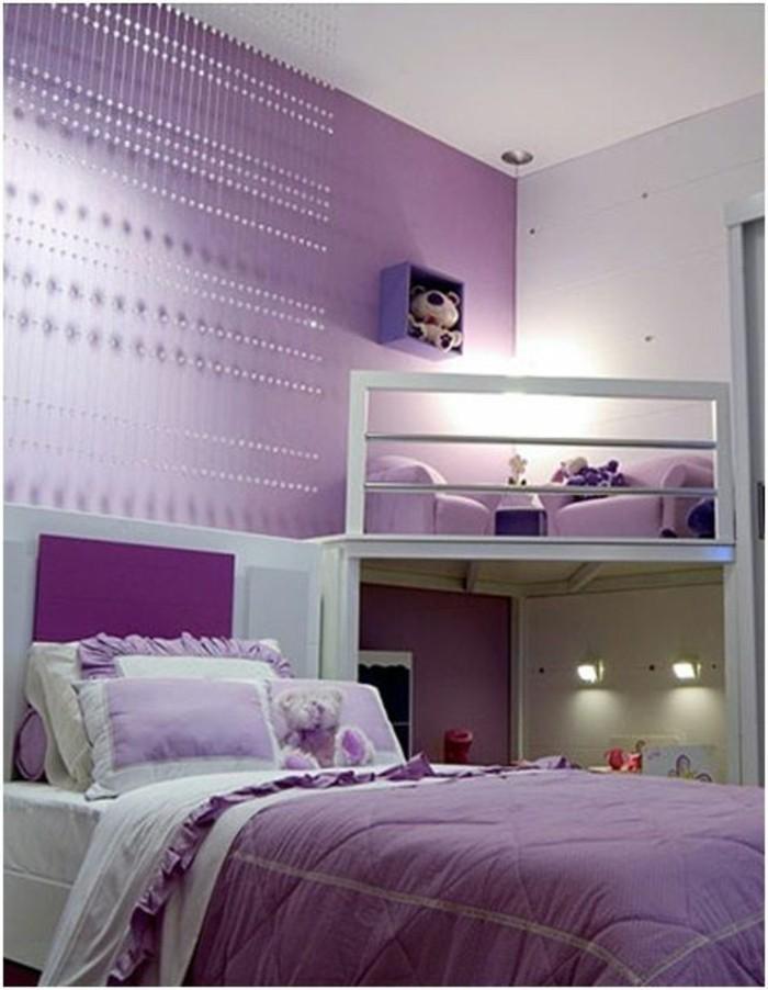 Kinderzimmer Lila Beige flieder farbe akzente wohnideen babyzimmer im vintage stil Das Kinderzimmer Fr Mdchen Ist Eine Kleine Mrchenhafte Welt Lila Beige
