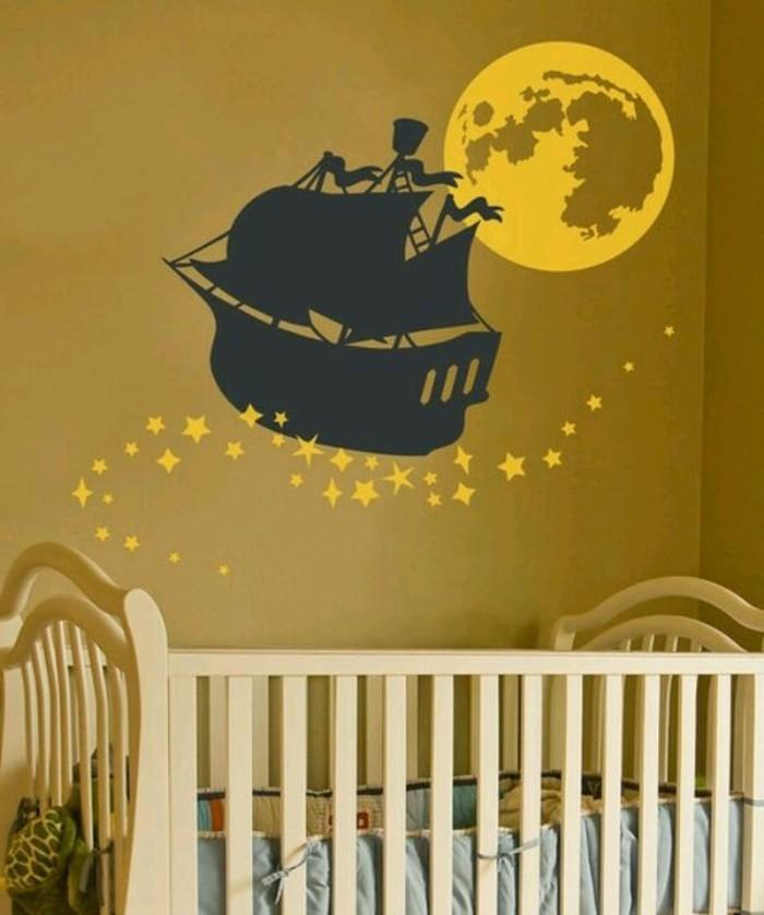 Leuchtende Kindertapeten : Die besten Ideen f?r die Kinderzimmer Wandgestaltung