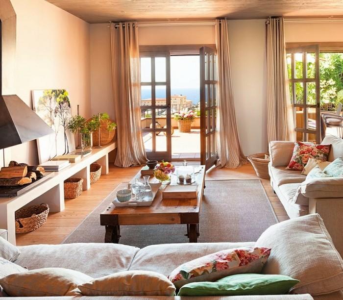 landhaus deko 60 faszinierende vorschl ge. Black Bedroom Furniture Sets. Home Design Ideas
