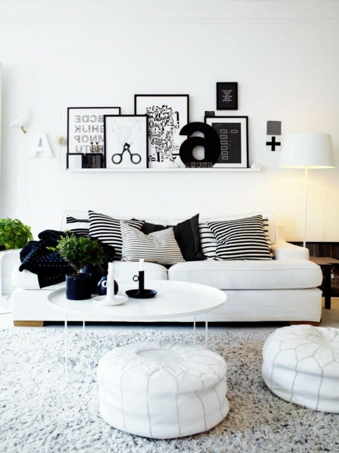 landhaus-deko-landhaus-dekoration-schwarz-weis-bilder
