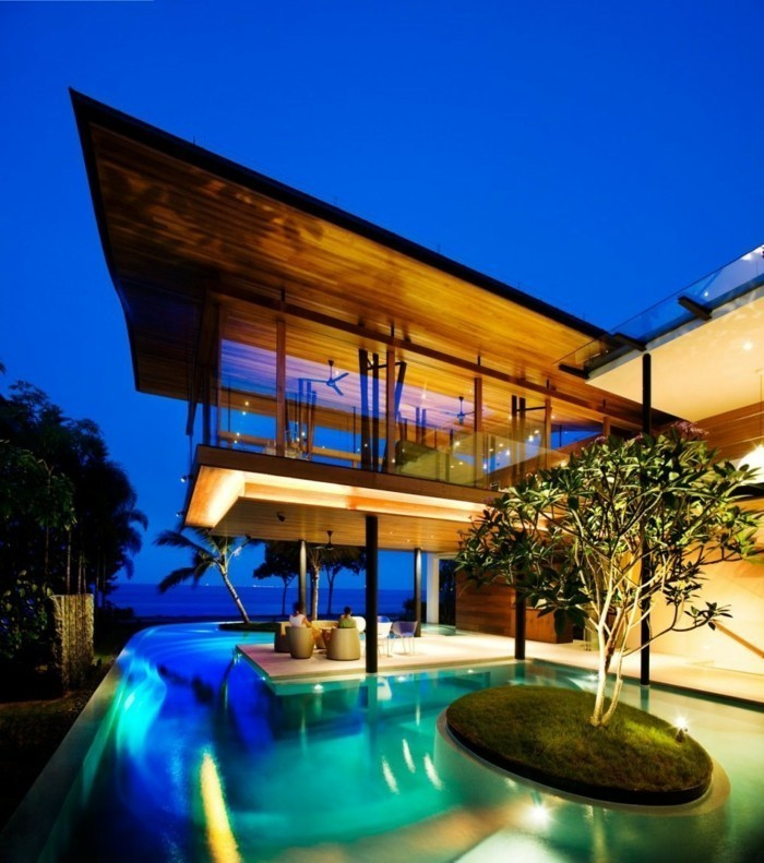 Luxusvilla  Luxus Villa zum Träumen: 40 faszinierende Fotos - Archzine.net