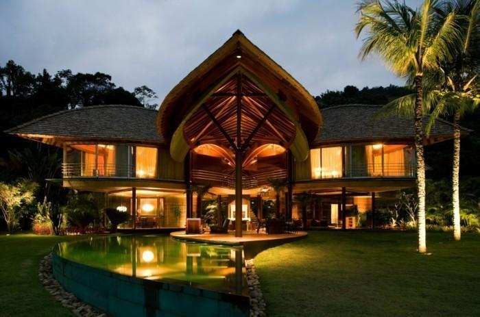 luxus villa zum tr umen 40 faszinierende fotos. Black Bedroom Furniture Sets. Home Design Ideas