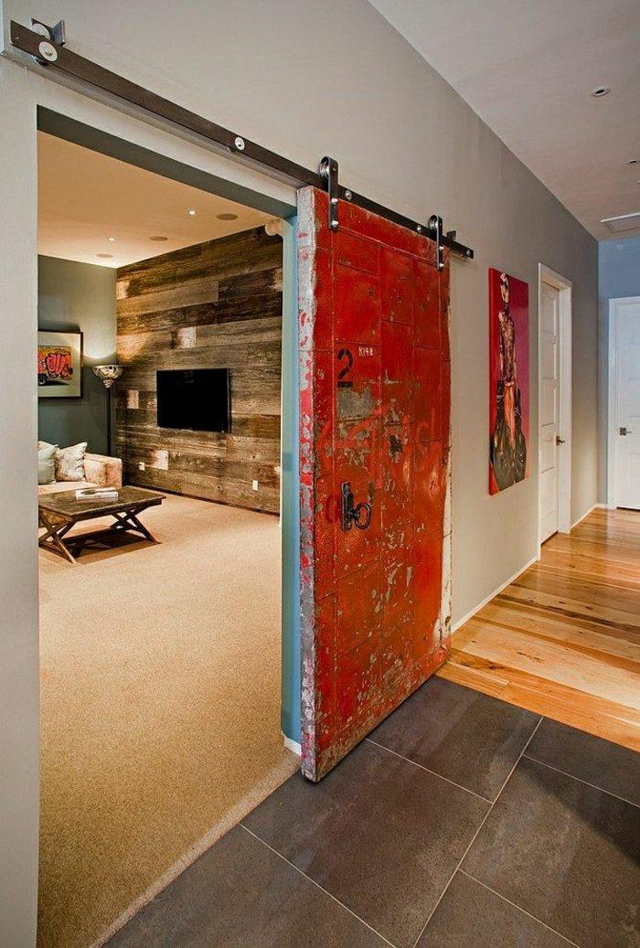 mobile raumteiler wohnzimmer:Graffiti im Zimmer mit mobilen Trennwand