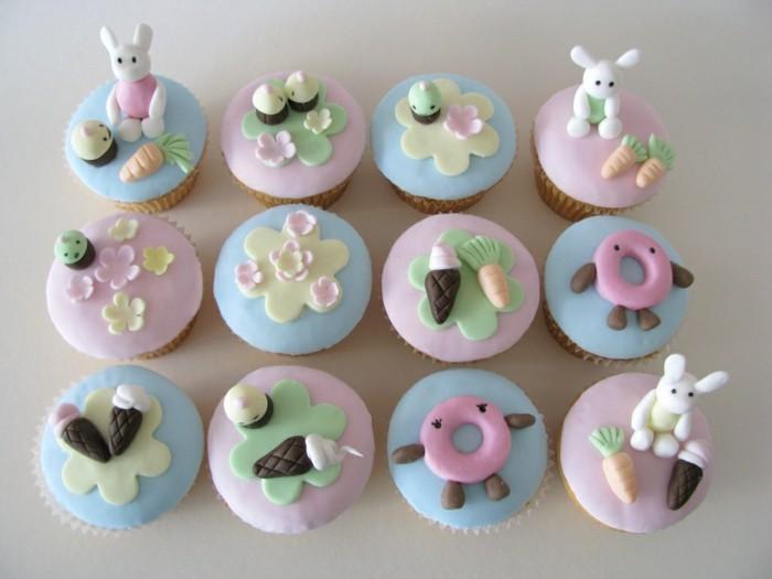 muffins-dekorieren-baby-geburtstag-zwillinge
