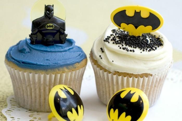 muffins-dekorieren-ideen-batman-muffins
