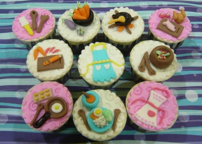 muffins-dekorieren-ideen-ein-tag-durch-muffins-darstellen