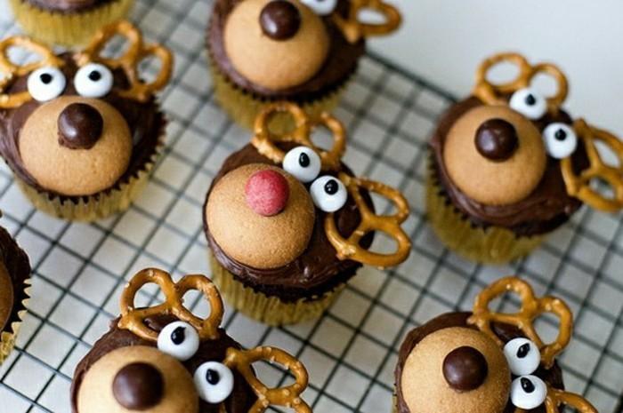 muffins-dekorieren-ideen-hirsch-deko-selber-gestalten