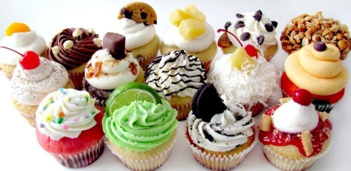 muffins-dekorieren-ideen-lustige-ideen-muffins-dekorieren