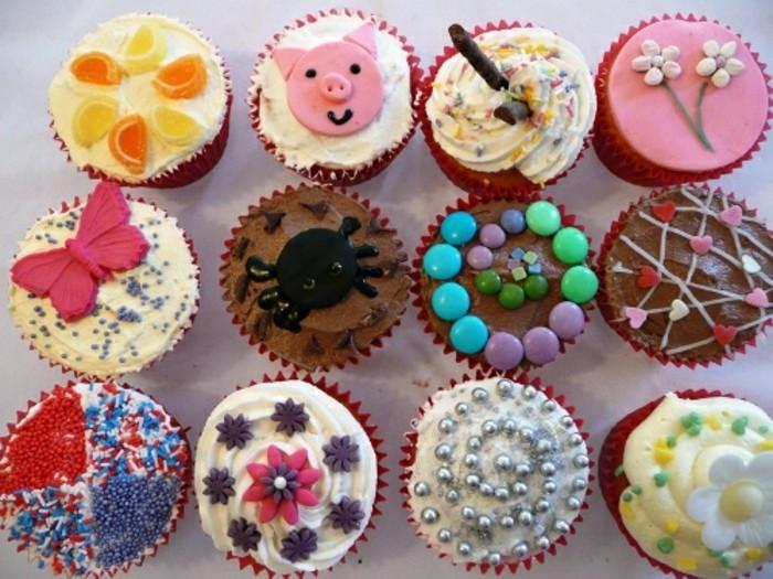 muffins-dekorieren-ideen-lustige-muffins-dekorieren
