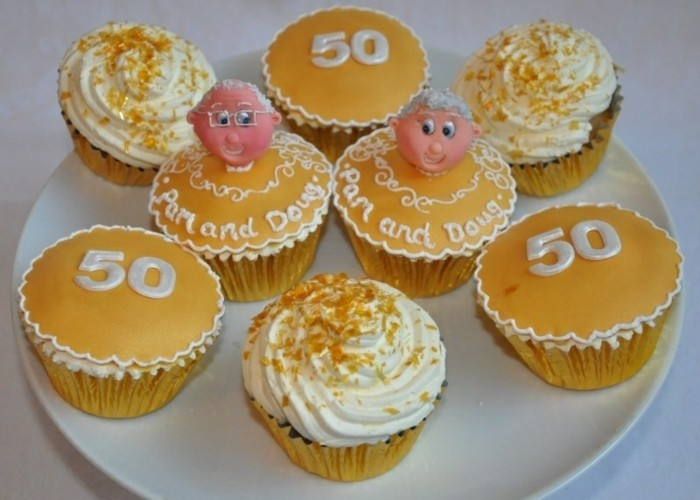 muffins-dekorieren-ideen-muffins-anstelle-von-torten-dekorieren