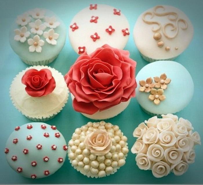 muffins-dekorieren-ideen-rollfondant-selber-machen-und-muffins-dekorieren