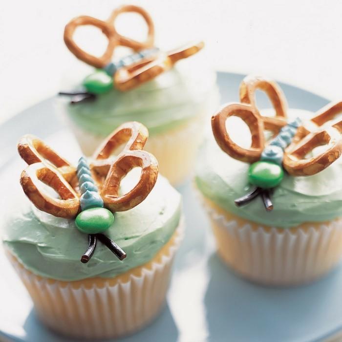 muffins-dekorieren-ideen-schmetterlinge