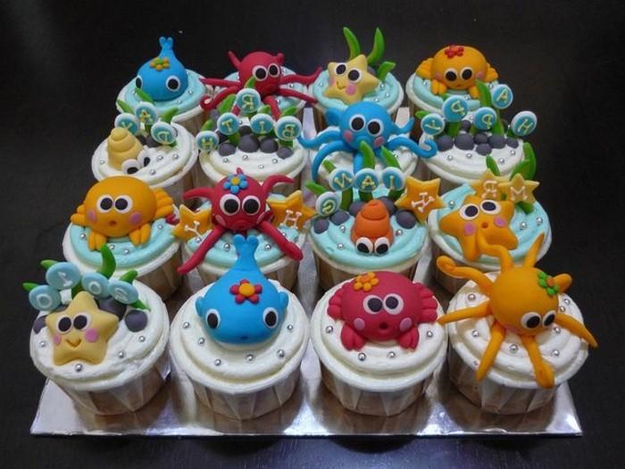 muffins-dekorieren-ideen-zum-geburtstag-muffins-dekorieren