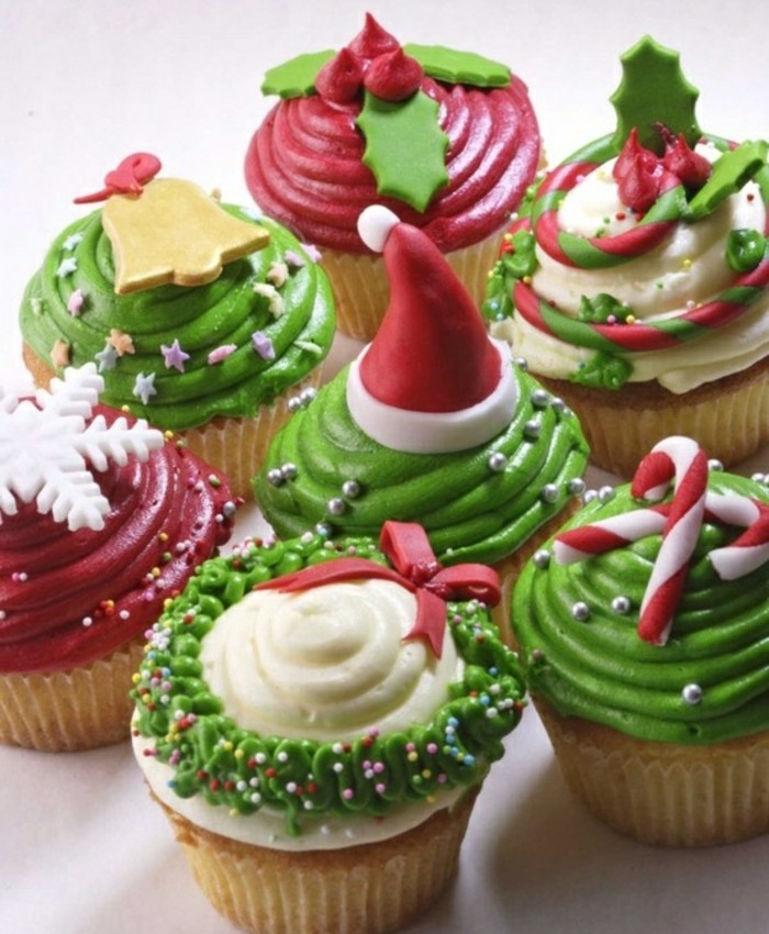 muffins-dekorieren-susigkeiten-zu-weihnachten