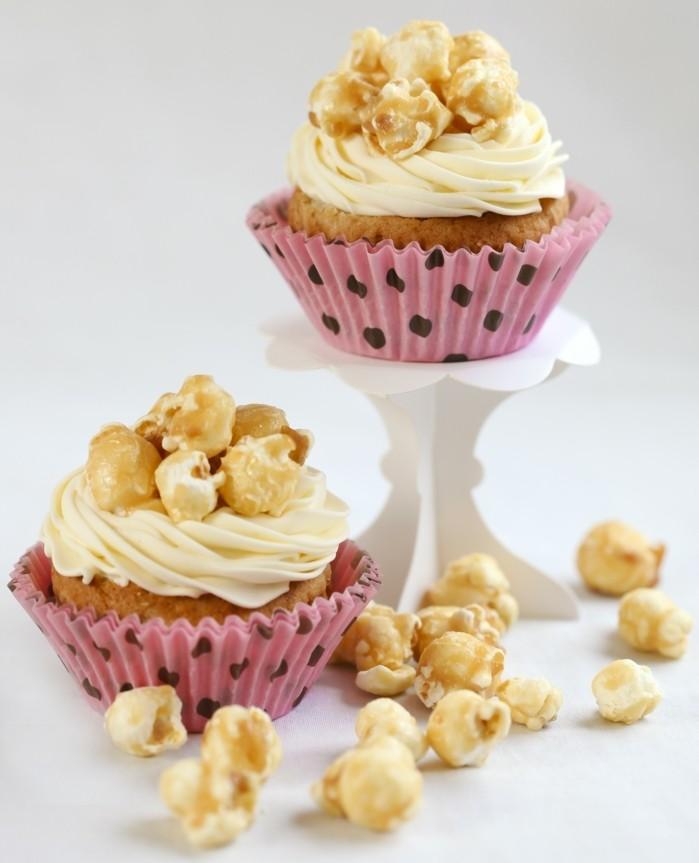 muffins-dekorieren-selber-machen-muffin-deko-popcorn