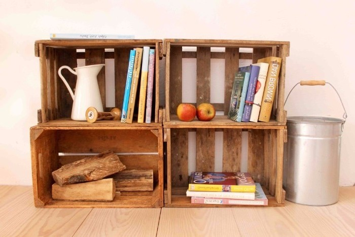 ausgefallenes regal selber bauen. Black Bedroom Furniture Sets. Home Design Ideas
