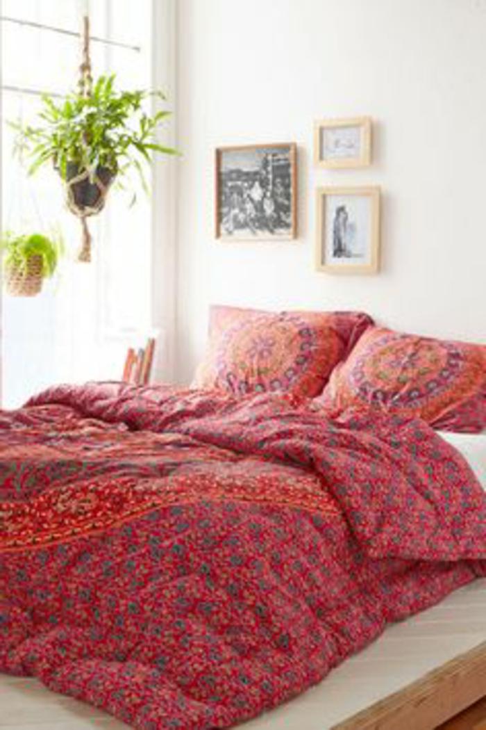 schlafzimmer einrichten rot dekoration und interior