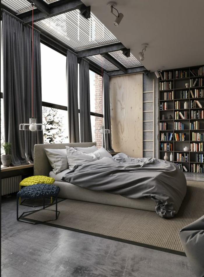 schlafzimmer einrichten ideen grau wohndesign und inneneinrichtung. Black Bedroom Furniture Sets. Home Design Ideas