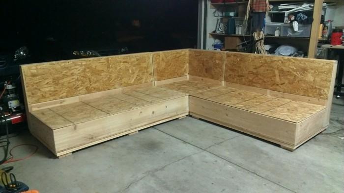 lounge möbel holz bauanleitung | rheumri, Gartenarbeit ideen