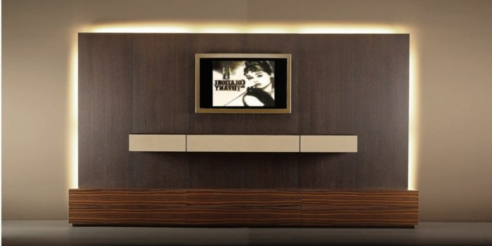 tv wand selber bauen holz. Black Bedroom Furniture Sets. Home Design Ideas