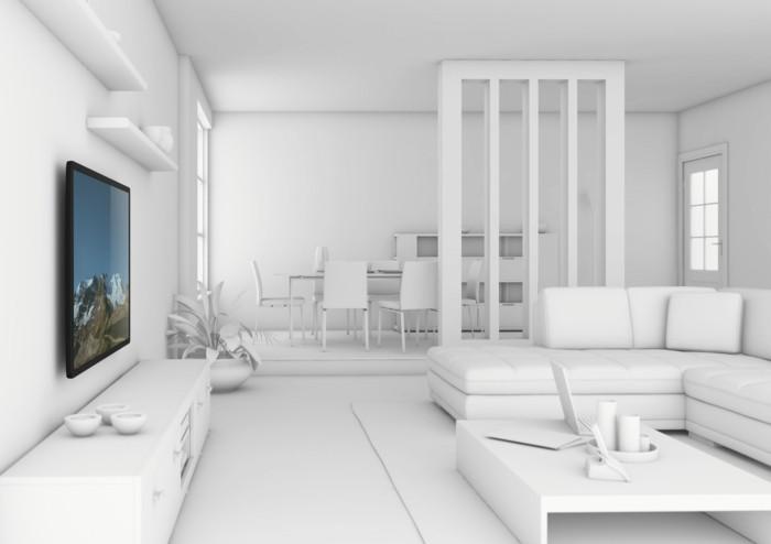tv-wand-selber-bauen-eine-weiße-tv-wand-selber-bauen