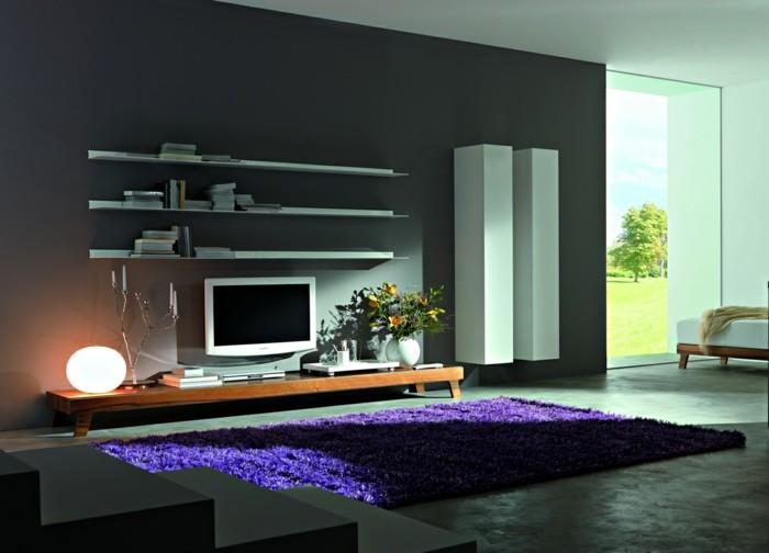 tv wand selber bauen 80 kreative vorschl ge. Black Bedroom Furniture Sets. Home Design Ideas
