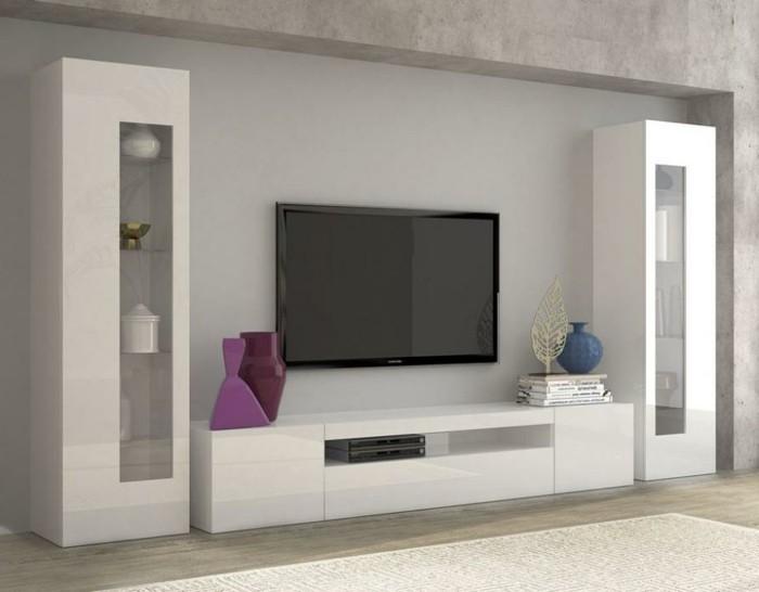 tv wand ideen selber bauen inspirierende idee zum thema holz