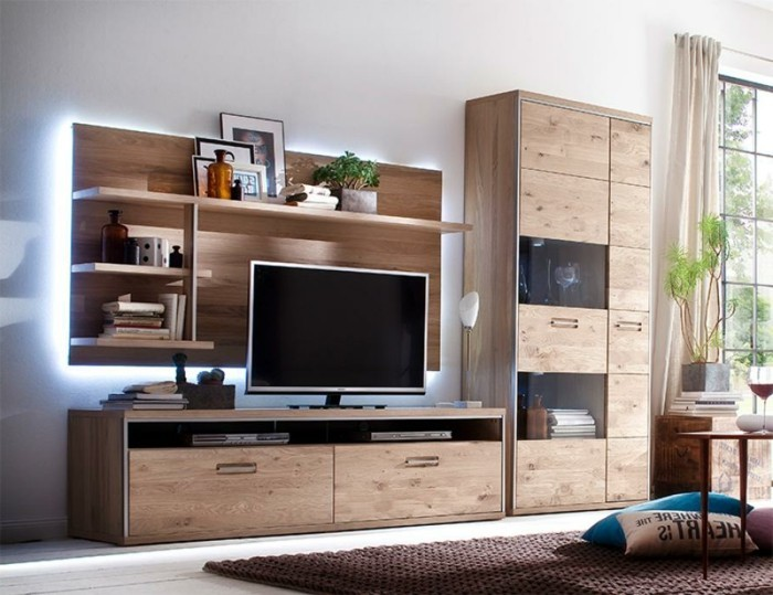 tv wandverkleidung alles ber wohndesign und m belideen. Black Bedroom Furniture Sets. Home Design Ideas