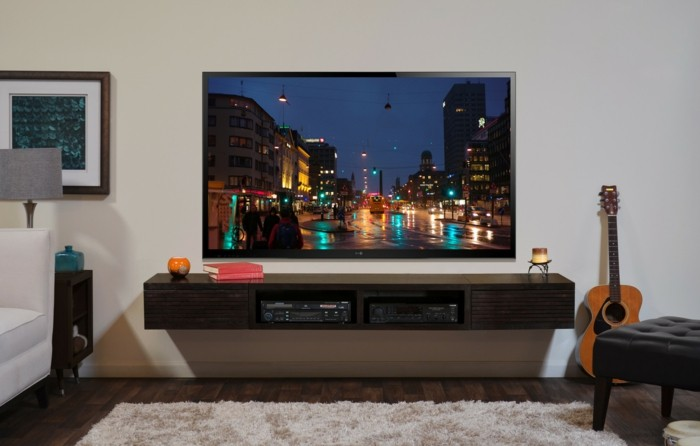 tv wand selber bauen pictures to pin on pinterest. Black Bedroom Furniture Sets. Home Design Ideas