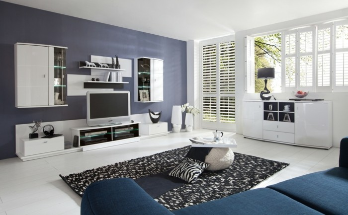wohnzimmer einrichtungsideen farben. Black Bedroom Furniture Sets. Home Design Ideas