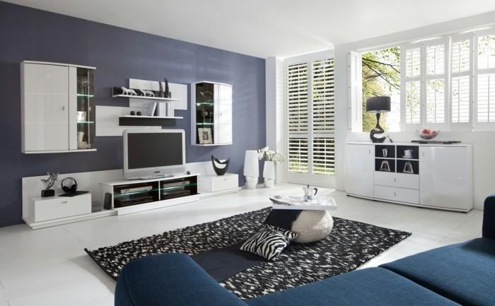 wohnzimmer einrichten 44 ideen und tipps. Black Bedroom Furniture Sets. Home Design Ideas