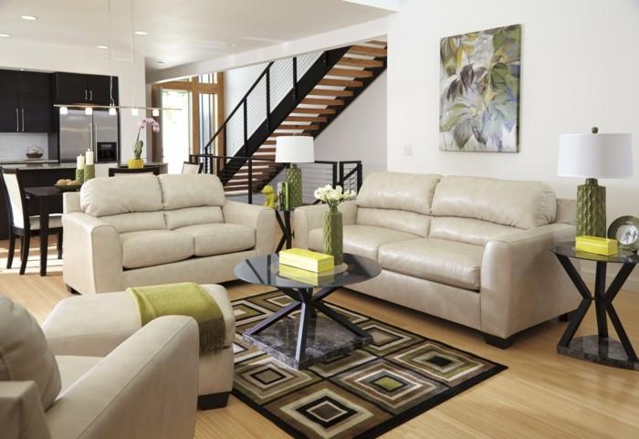 Wohnzimmer Einrichten Naturfarben Ins Einfugen Resized
