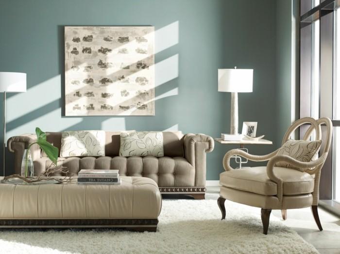 Wohnzimmer Einrichten Simple Farben Einzigartige Ornamente Resized