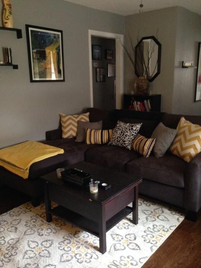 Modernes Wohnzimmer In Braun? 100 Neue Vorschläge!