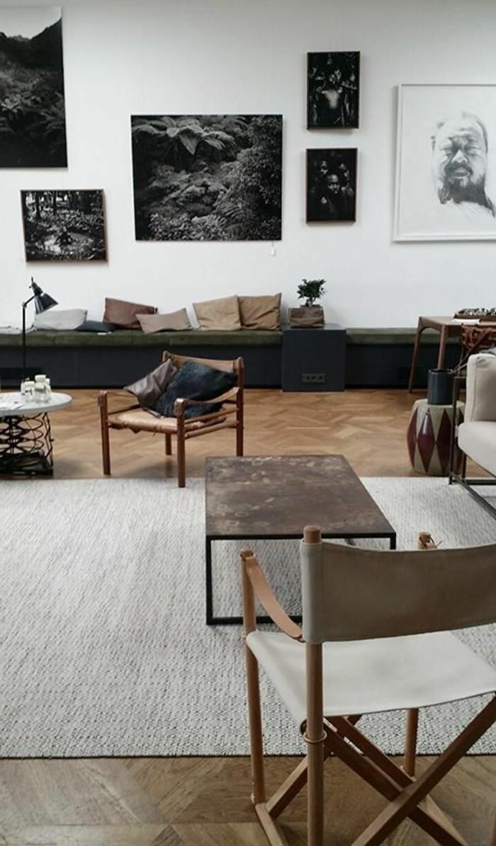 Ein wohnzimmer in braun wirkt einladend und wohnlich - Wohnzimmer schwarz braun ...