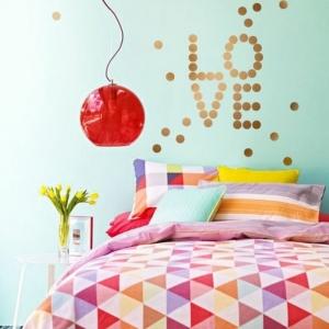 44 wunderschöne Wandtattoos für das Schlafzimmer