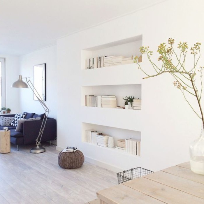 Wanddeko wohnzimmer dekorative wandnischen for Wohnzimmer accessoires bringen leben ins zimmer