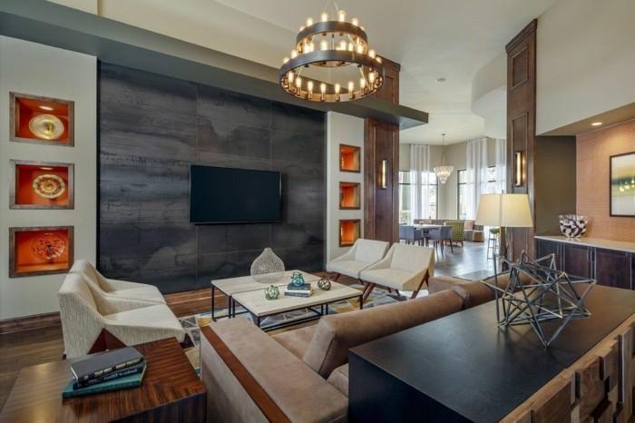 1wanddekowohnzimmer-dekorative-wandnischen-dekoration-ideen