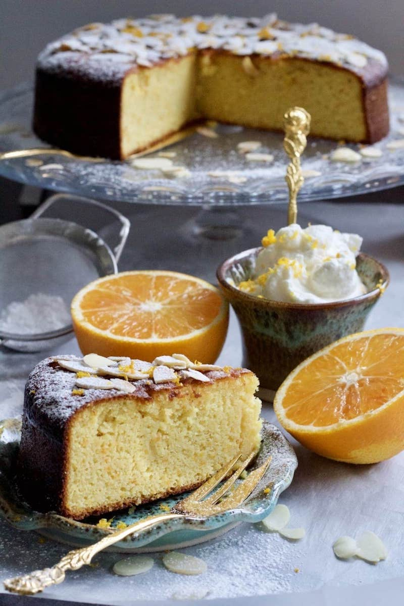 7 mandelkuchen rezept mit gemahlenen mandeln und orange