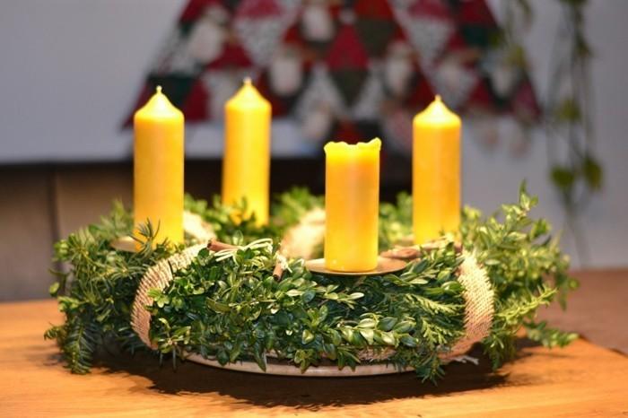 adventskranz tradition und neuste trends vor weihnachten. Black Bedroom Furniture Sets. Home Design Ideas