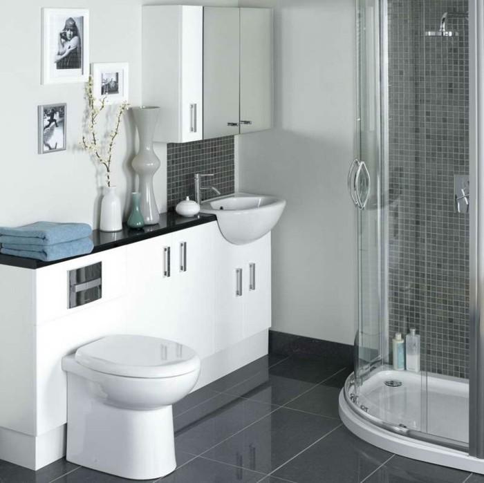 badezimmer-ideen-fur-kleine-bader-graue-mosaik