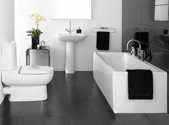 Moderne kleine badezimmer  Kleines Bad Fliesen - 58 praktische Ideen für Ihr Zuhause ...