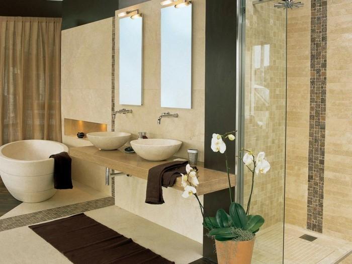 Kleines Bad Fliesen - 58 praktische Ideen für Ihr Zuhause ...
