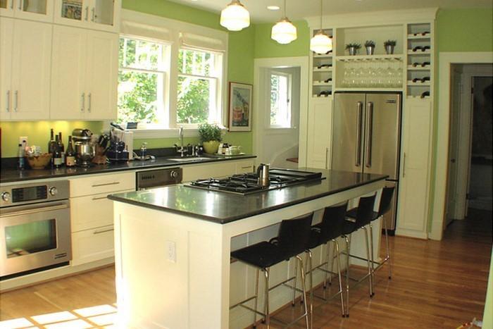 Küche Grün die küche in grün gestalten das fröhliche grün